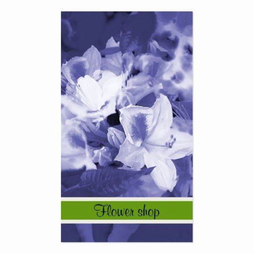 Flower Shop Business Cards Best Of Flower Shop Business Card