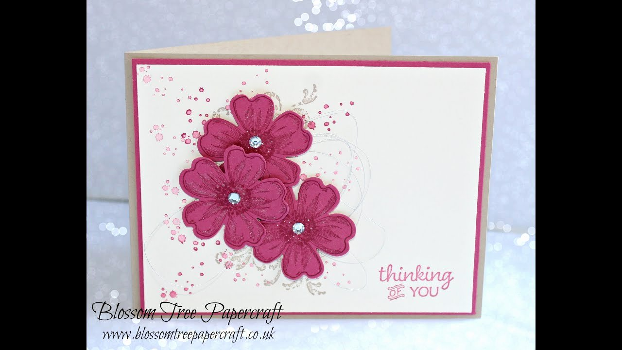 Flower Shop Business Cards Luxury Stampin Up Timeless Textures with Flower Shop Thinking Of You Card