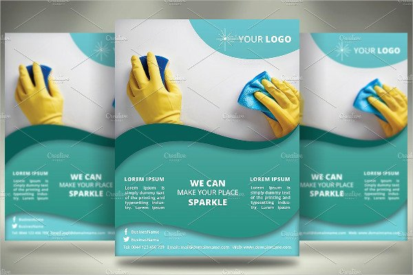 Flyer for Cleaning Service Best Of 14 Sample Cleaning Pany Brochure Templates Ai Psd