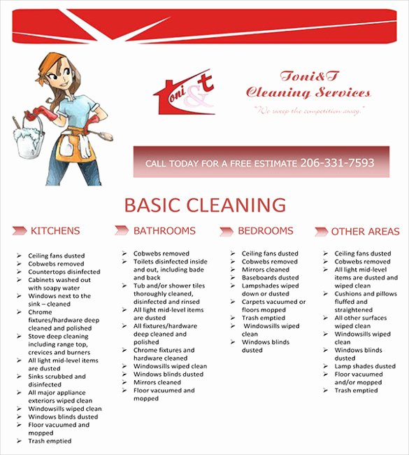 Flyer for Cleaning Service Inspirational 20 House Cleaning Flyer Templates In Word Psd Eps Vector format
