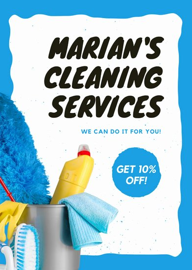 Flyer for Cleaning Service New Customize 167 Cleaning Flyer Templates Online Canva
