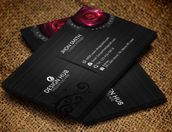 Foldable Business Card Template Lovely 21 Folded Business Cards Free Download