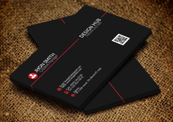 Foldable Business Card Template Unique 21 Folded Business Cards Free Download