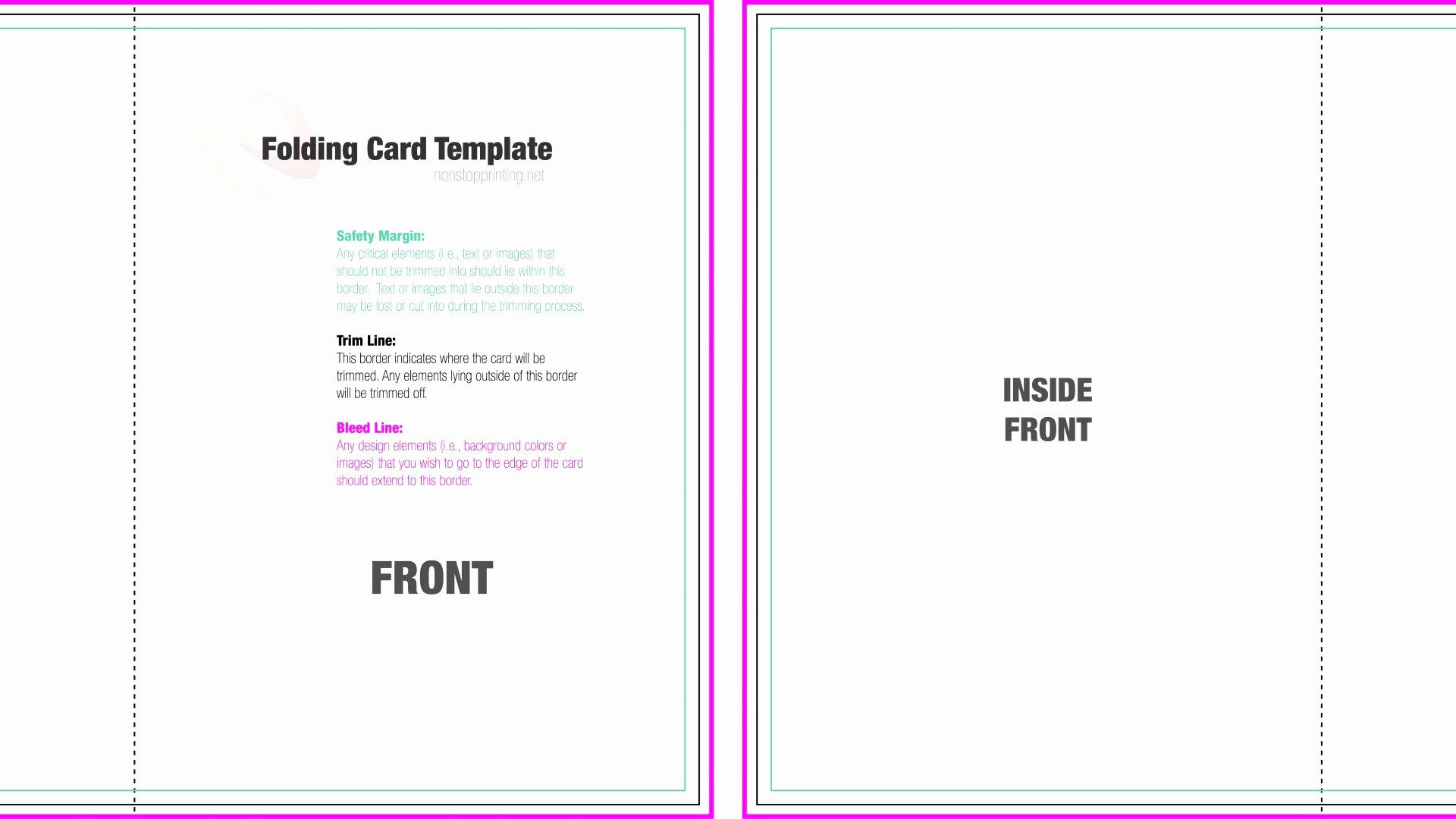Folded Business Card Templates Awesome 11 12 Folded Birthday Card Template