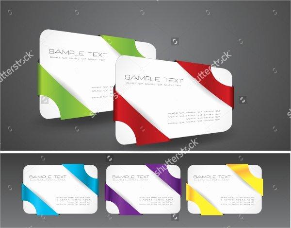 Folded Business Card Templates Fresh 22 Folded Business Cards Psd Ai Vector Eps