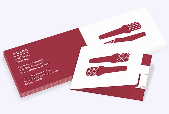 Folded Business Cards Template Awesome Folded Business Cards
