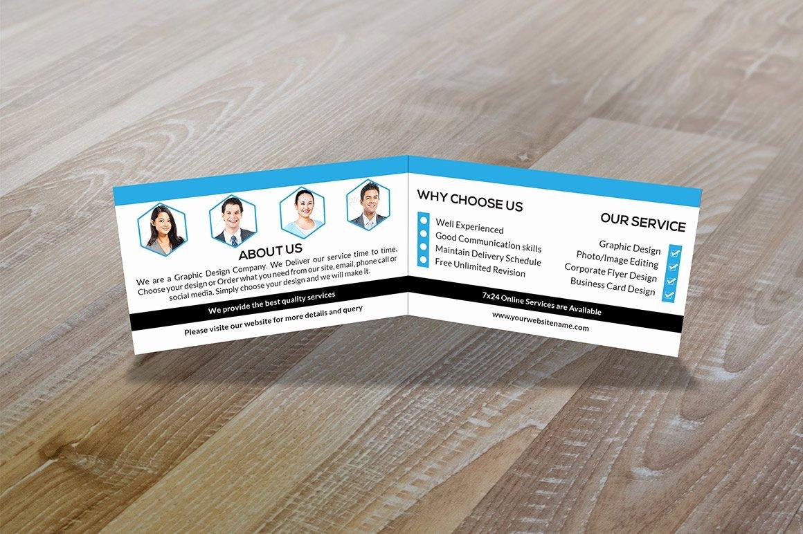 Folded Business Cards Templates Beautiful Folded Business Card Vol 1 Business Card Templates Creative Market