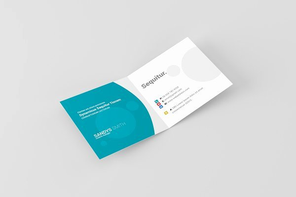 Folding Business Card Templates Awesome Square Folded Business Card Mock Ups Psd Mockup Free Magazine Cover Mockup Template Psd