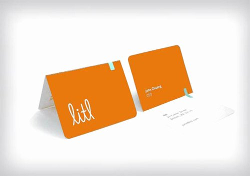 Folding Business Card Templates Best Of Folded Business Cards Design