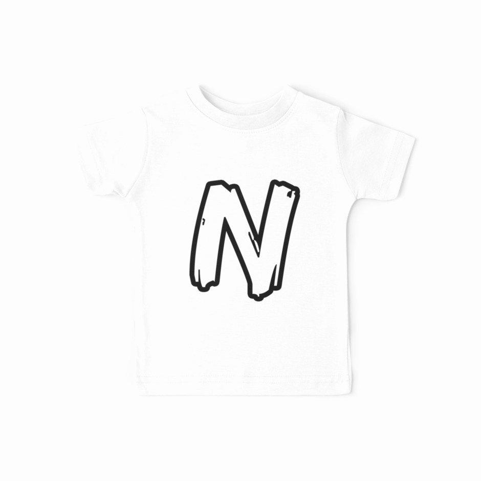 "Font for T Shirt Elegant ""n Brush Style Capital Letter Initial T Shirt Modern Minimalist Font Logo Typeface Lettering"
