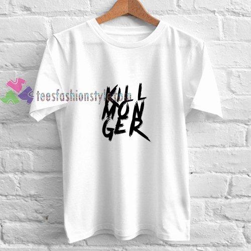 Font for T Shirts Awesome Killmonger Font T Shirt T Tees Uni Adult Cool Tee Shirts Cheap