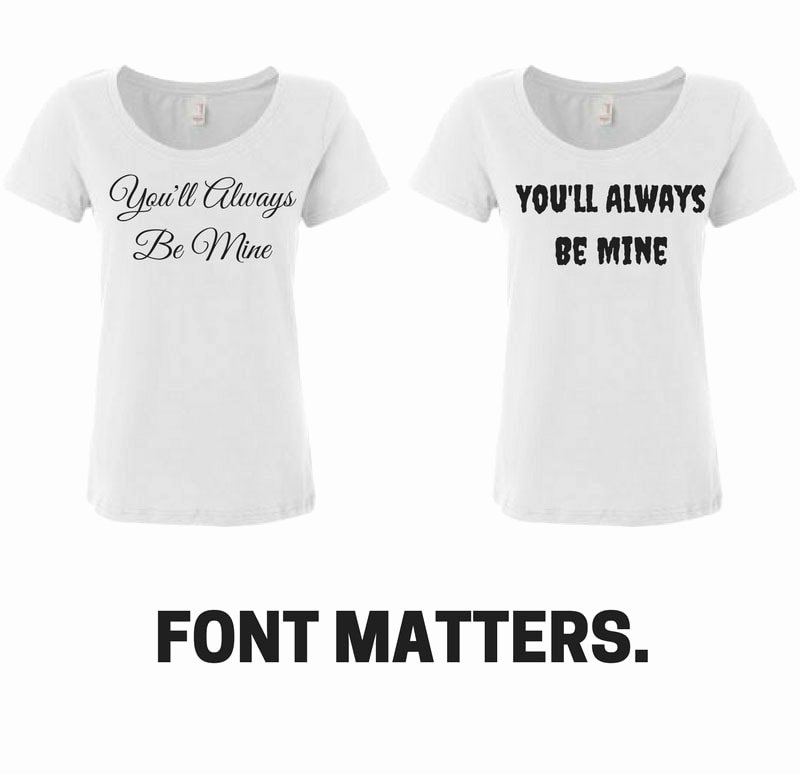 Fonts for T Shirts New How to Choose the Best Fonts for T Shirt Designs with Font Resources