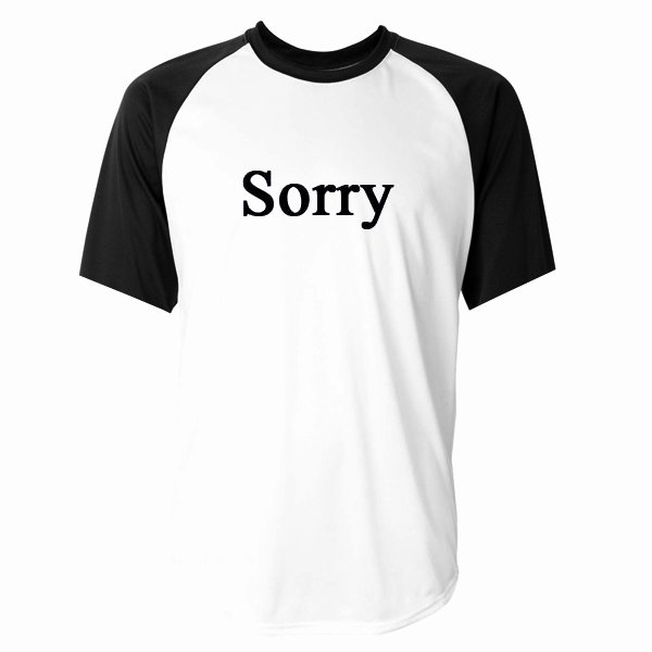 Fonts for T Shirts New sorry Font Baseball Tshirt
