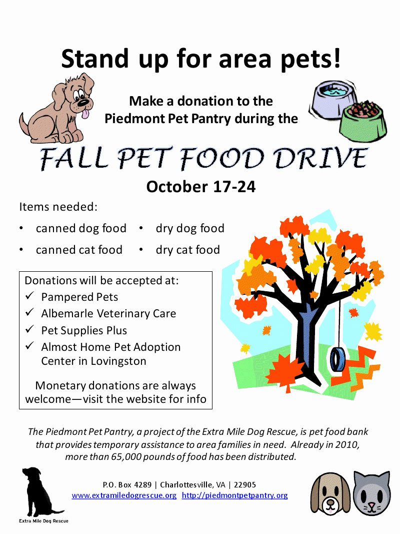 Food Drive Flyer Ideas Awesome I Was asked to Create A Flyer Promoting A Food Drive In Support Of the Piedmont Pet Pantry In