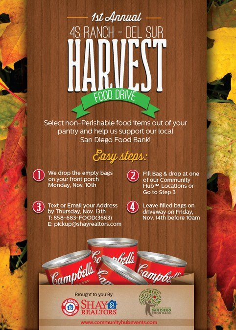 Food Drive Flyer Ideas Lovely Create attractive Food Drive Postcard with Fall Harvest theme Need asap