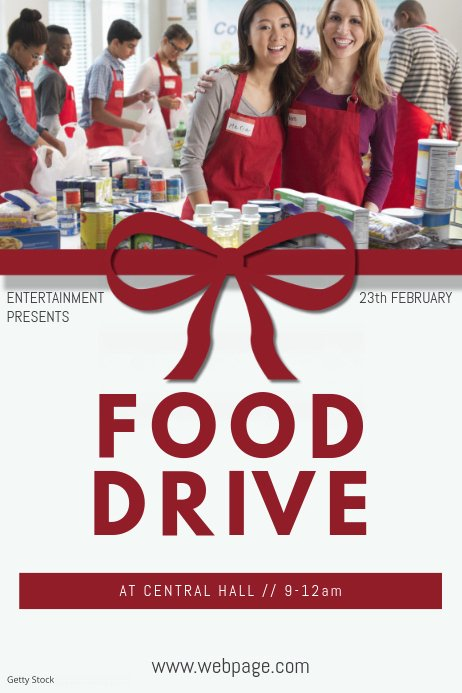 Food Drive Flyer Template Awesome Food Drive Flyer Template