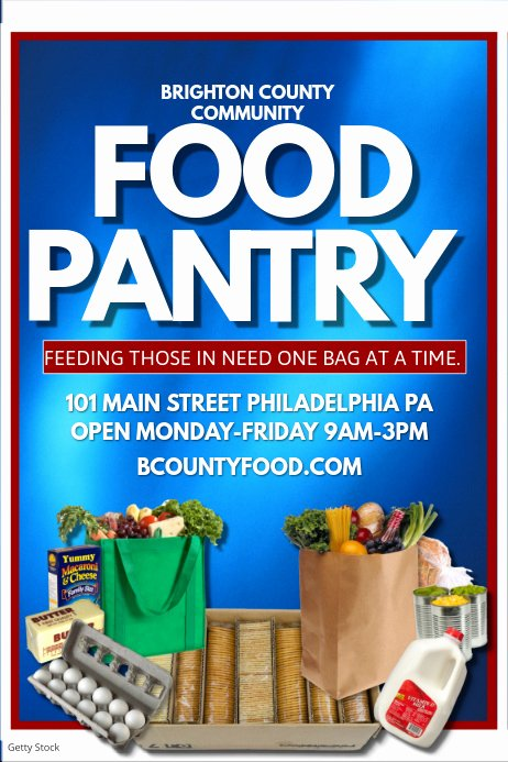 Food Drive Flyer Template Best Of Food Pantry Template