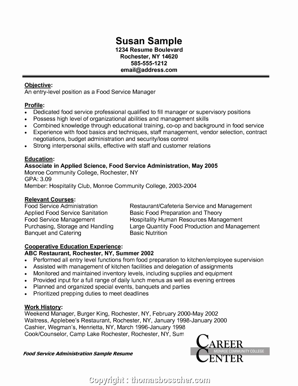 Food Service Manager Resume Fresh Create Sales Manager Resume Food Industry Catering Resume Good Food Service Administration Sales