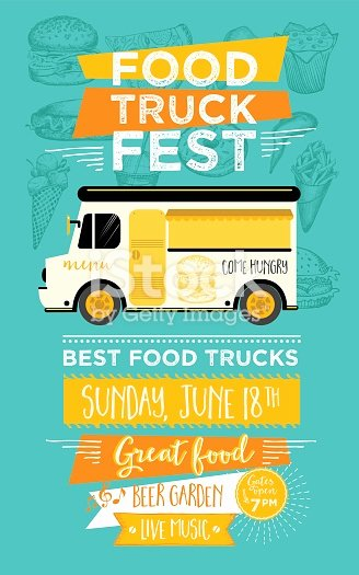 Food Truck Menu Template Elegant Food Truck Party Invitation Food Menu Template Design Stock Vector Art & More Of American