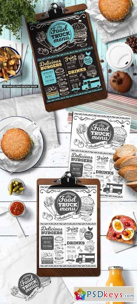 Food Truck Menu Template New Food Menus Free Download Shop Vector Stock Image Via torrent Zippyshare From Psdkeys