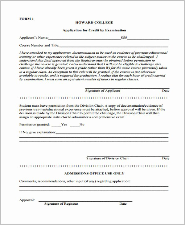 Ford Credit Application Pdf New 32 Credit Application forms In Pdf