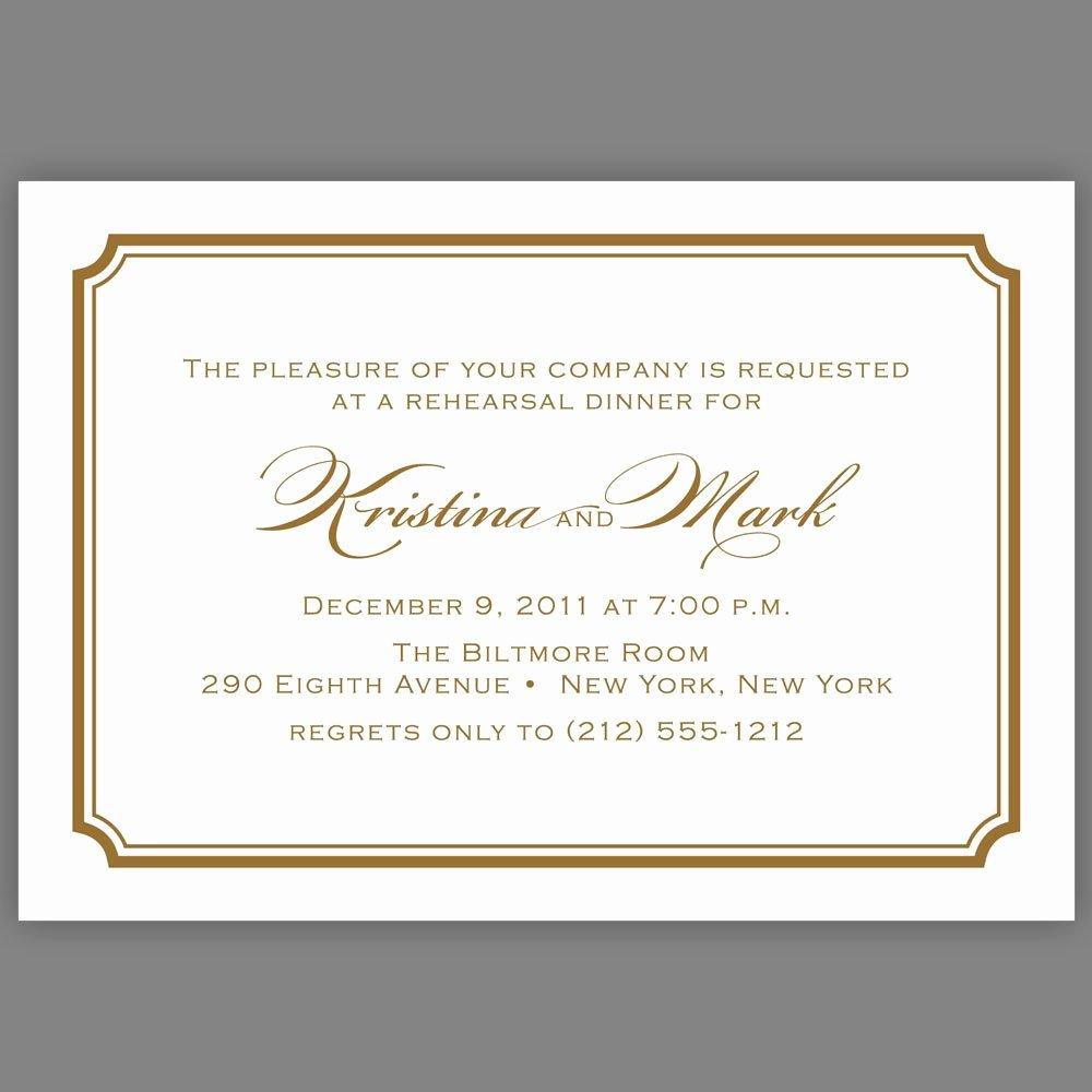Formal Dinner Invitation Wording Awesome Business Dinner Invitation Letter