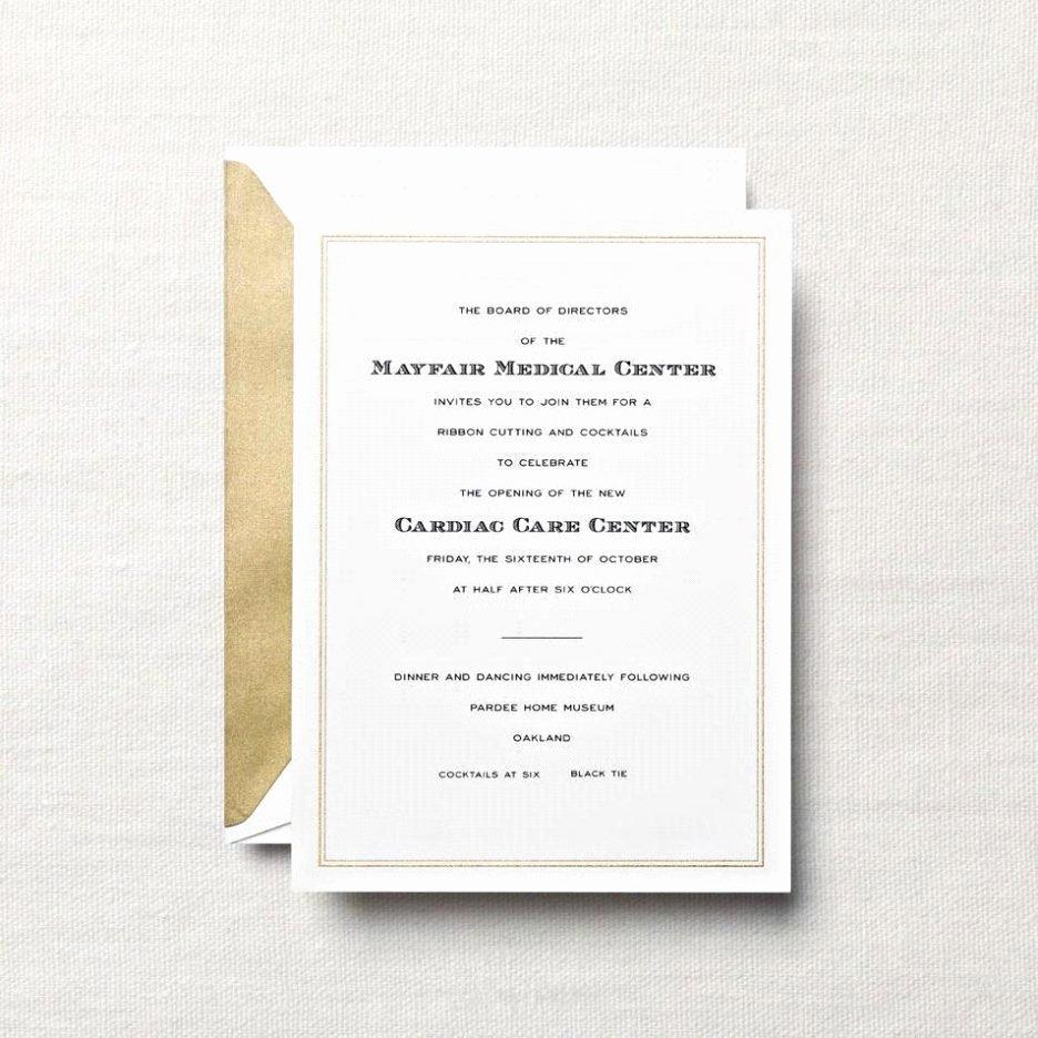 Formal Dinner Invitation Wording Fresh Pany Dinner Invitation