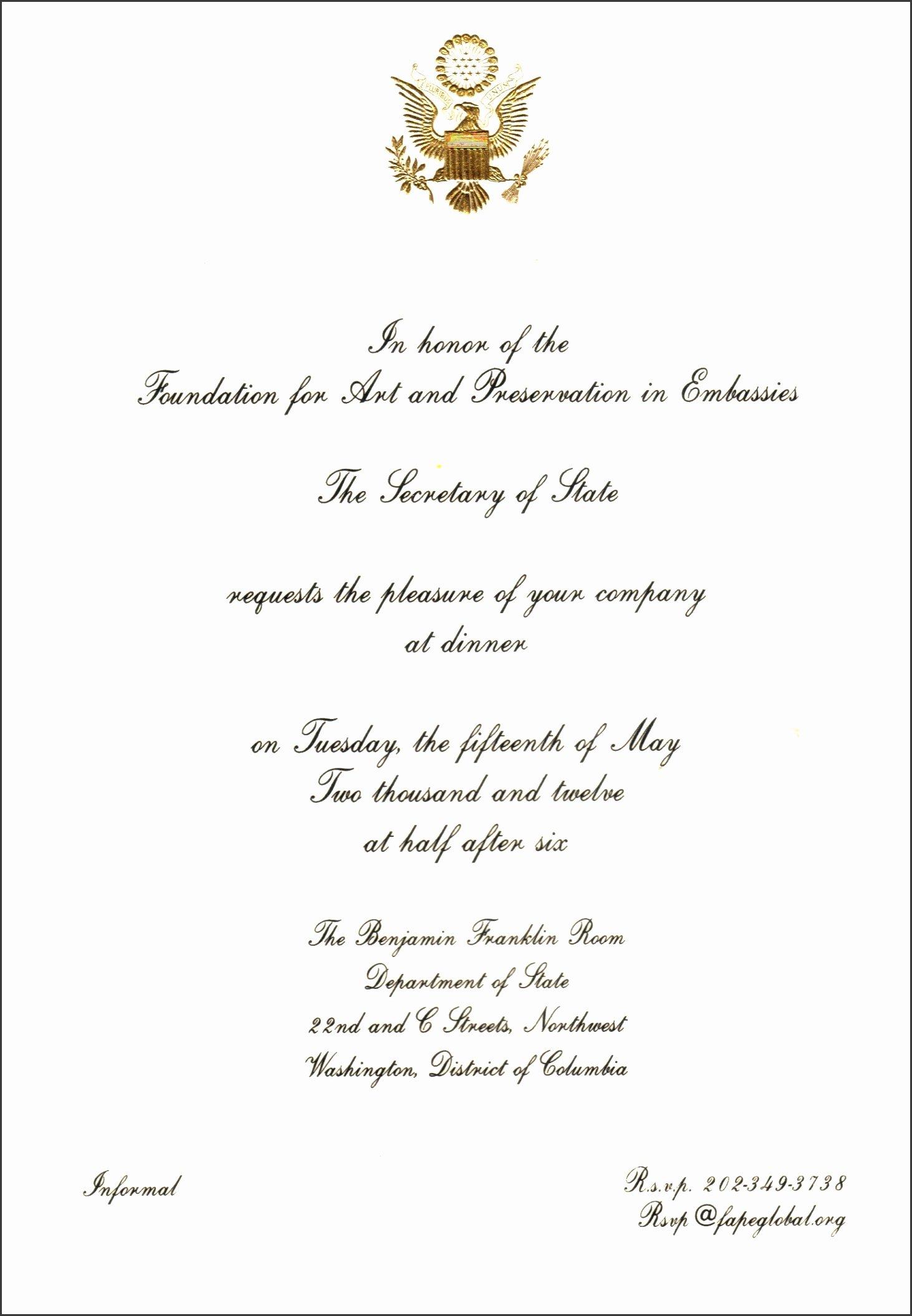 Formal Dinner Invitation Wording New 5 Informal Dinner Invitation Wording Sampletemplatess Sampletemplatess
