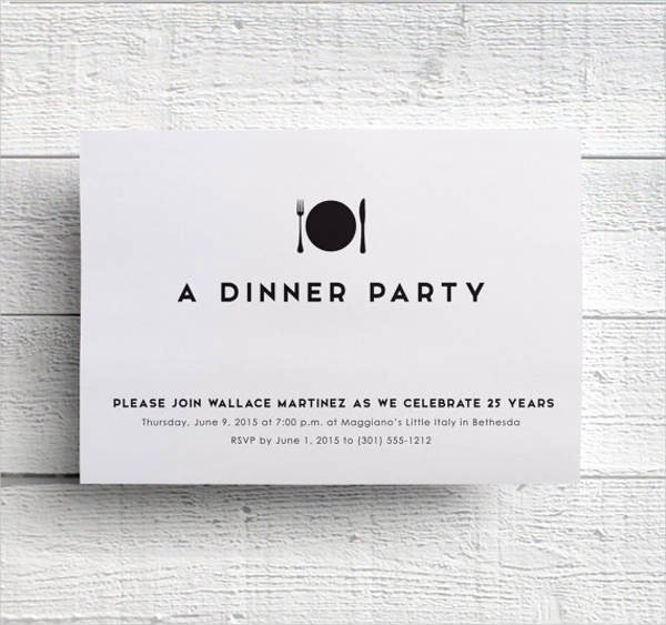 Formal Dinner Invitations Templates Beautiful 28 formal Dinner Invitations Psd Word Ai Publisher Apple Pages