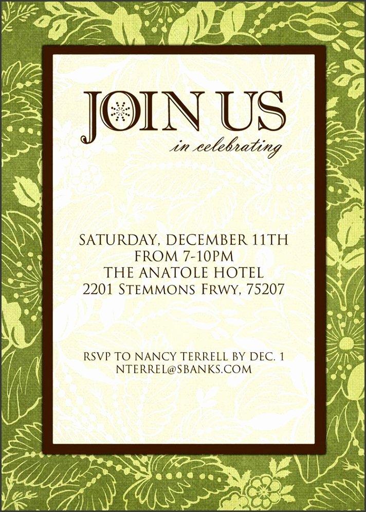 Formal Dinner Invitations Templates Fresh 10 formal Invitation Card Template Sampletemplatess Sampletemplatess