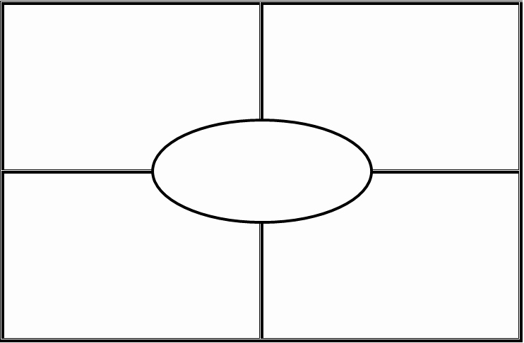 Four Square Graphic organizers Awesome Math to the 7th Power Anchor Task Graphic organizer