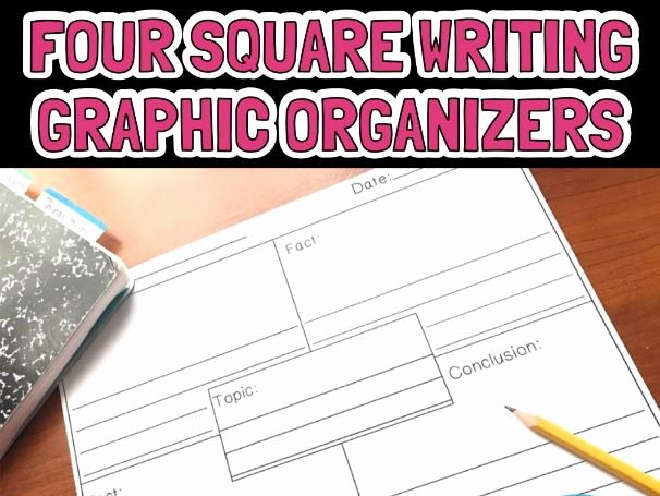 Four Square Graphic organizers Luxury Four Square Graphic organizers Editable by Carrberrycreations0