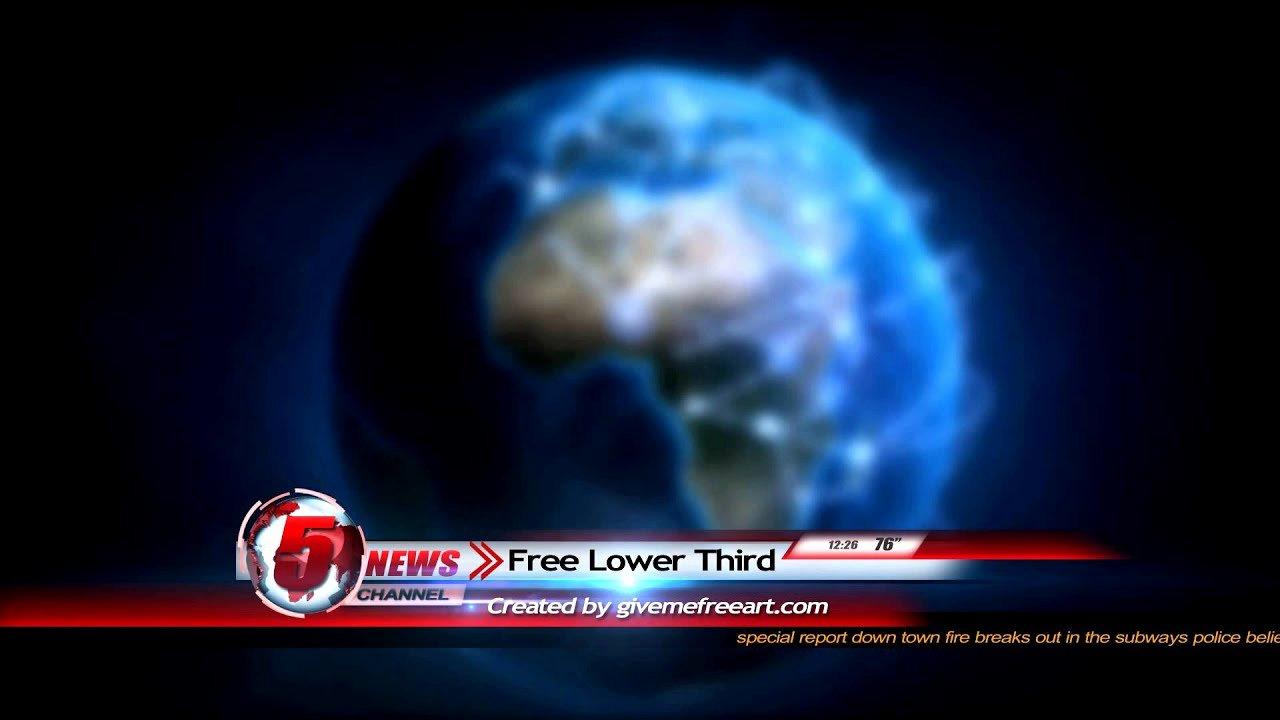 Free Animated Lower Thirds Elegant Free News Lower Third Animation