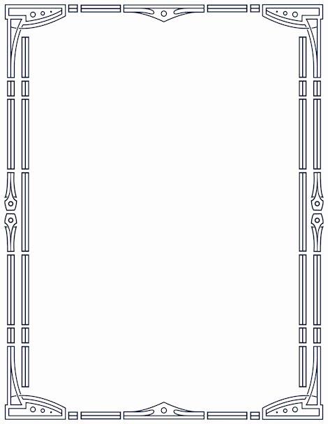 Free Art Deco Templates Elegant Printable Art Deco Border Free Gif Jpg Pdf and Png S at