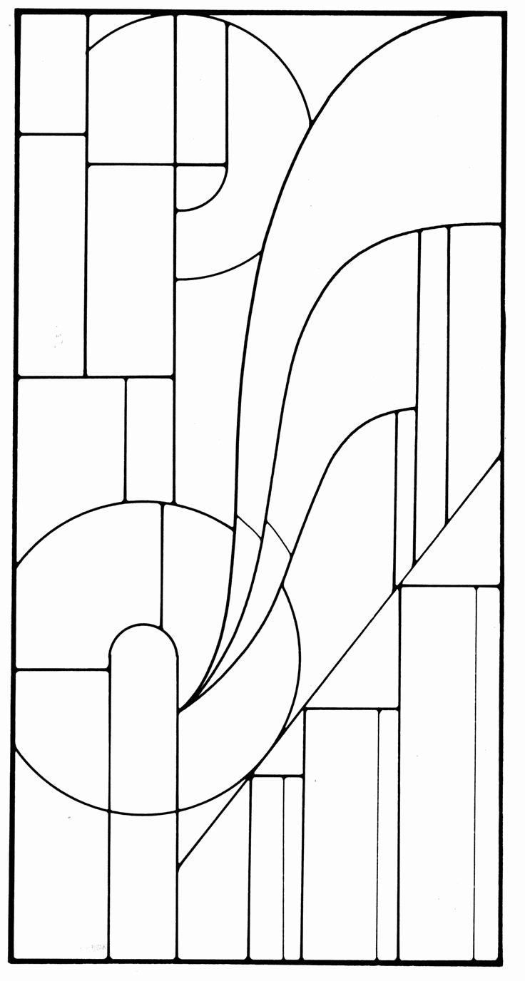 Free Art Deco Templates Fresh Art Deco Stained Glass Pattern Glass Mosaic & Quilt Inspirations Pinterest