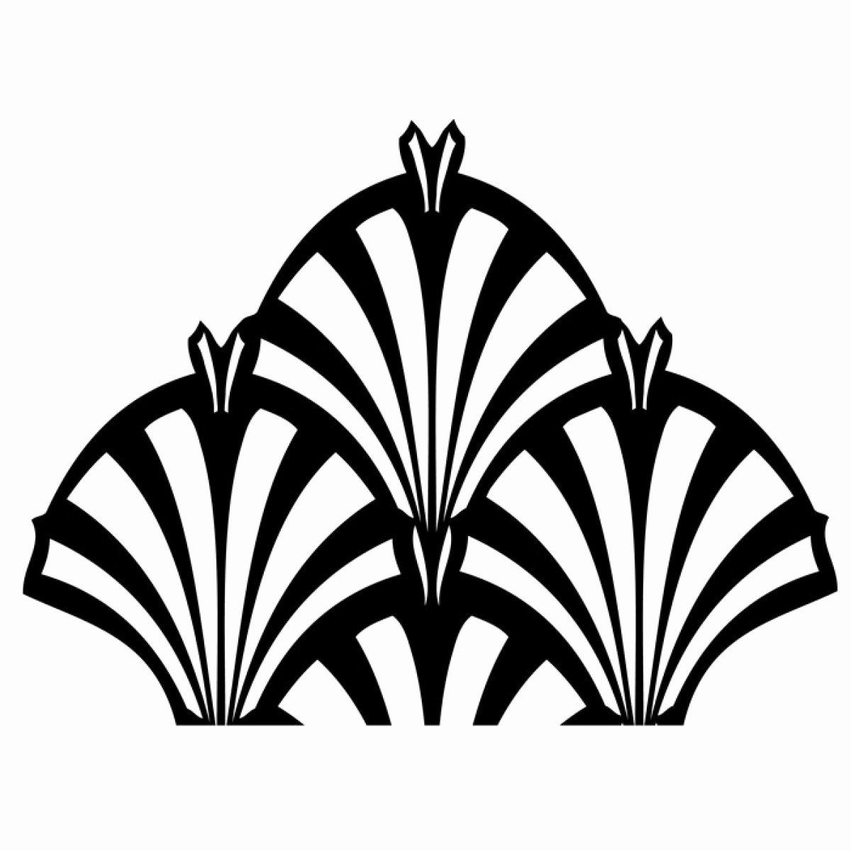 Free Art Deco Templates New Art Deco Fountain Mesh Stencil Evil Cake Genius