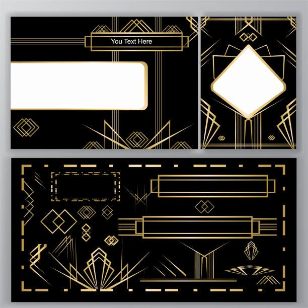 Free Art Deco Vector Beautiful Best Art Deco Illustrations Royalty Free Vector Graphics & Clip Art istock