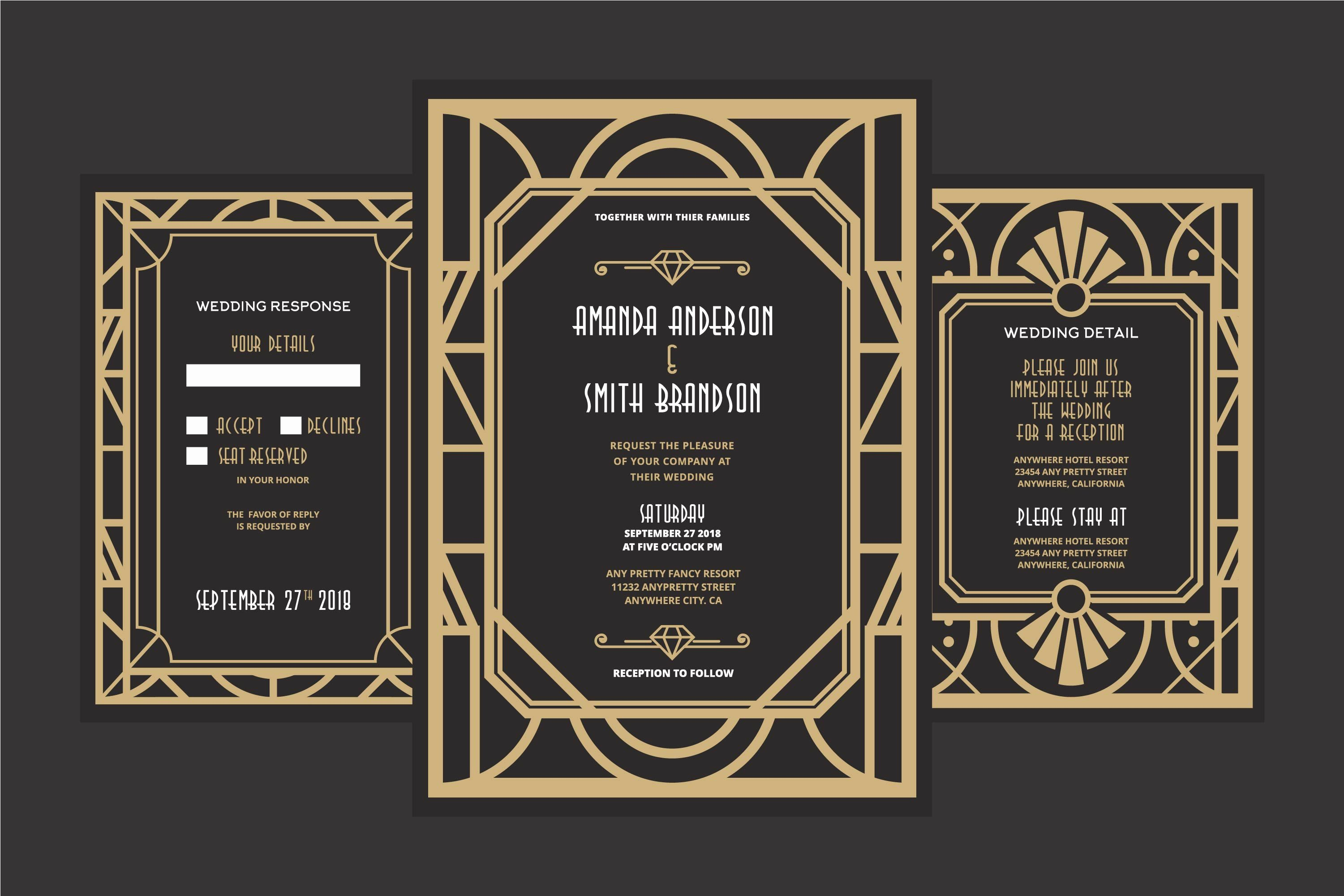 Free Art Deco Vector Inspirational Art Deco Wedding Download Free Vectors Clipart Graphics & Vector Art