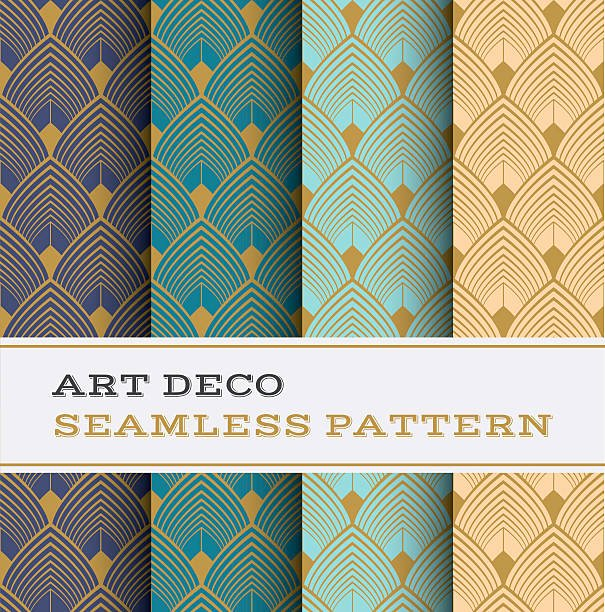 Free Art Deco Vector Luxury Royalty Free Art Deco Design Clip Art Vector & Illustrations istock