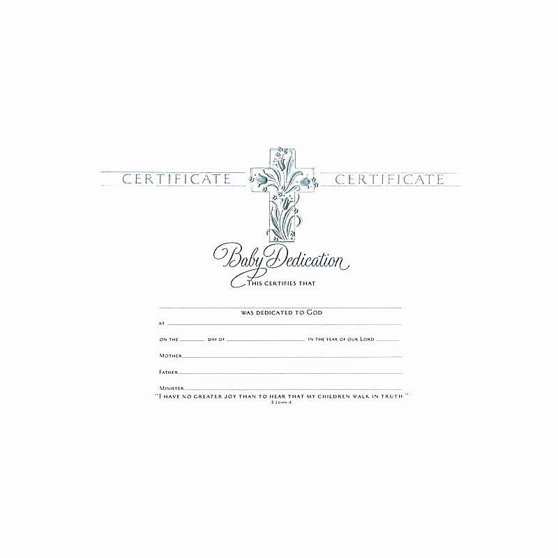 Free Baby Dedication Certificate New Certificate Baby Dedication Lifeway