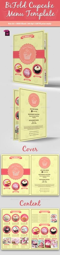 Free Bakery Menu Template Inspirational Bakery Menu Template Free Downloads Pinterest