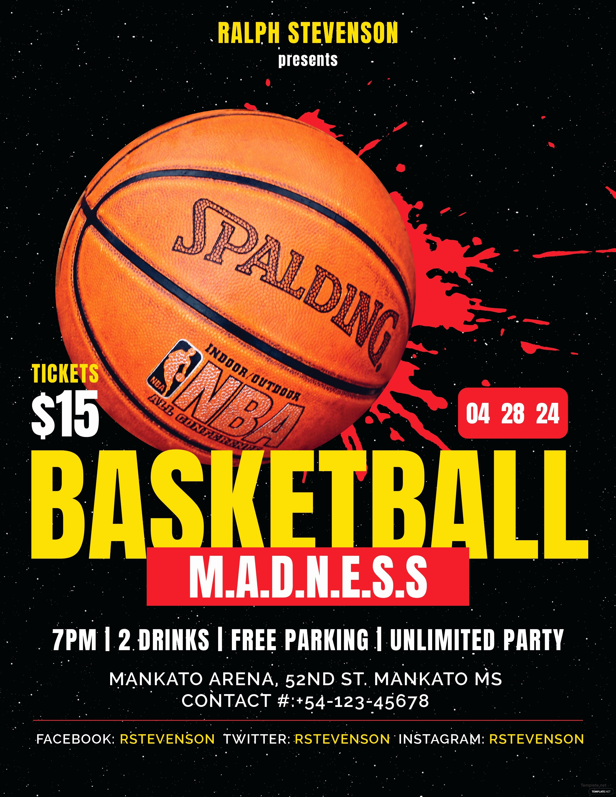 Free Basketball Flyer Template Fresh Free Basketball Madness Flyer Template In Adobe Shop Microsoft Word Microsoft Publisher