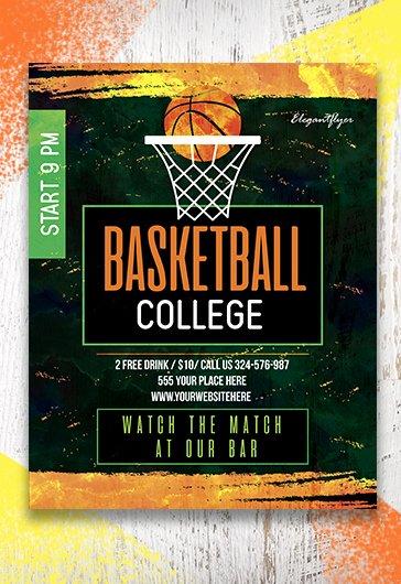 Free Basketball Flyer Template Inspirational Free Basketball Flyer Templates In Psd