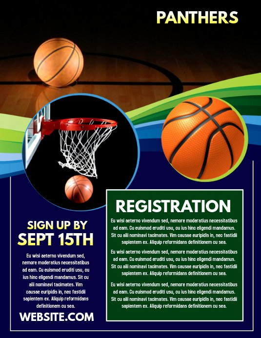 Free Basketball Flyer Template Lovely Basketball Template
