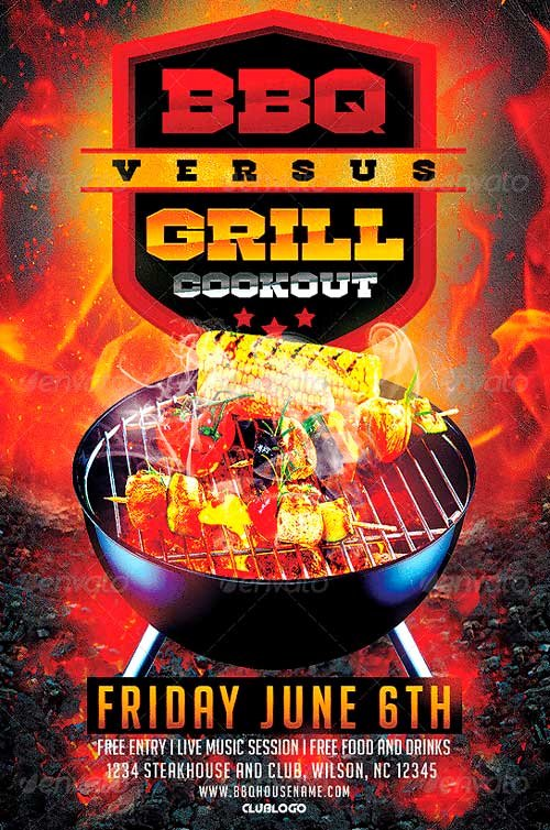 Free Bbq Flyer Template Best Of Featured Flyer Designer Majkolthemez Flyersonar
