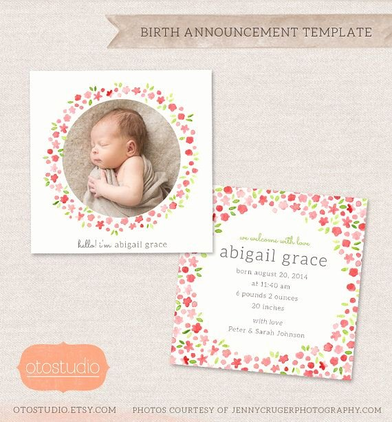 Free Birth Announcement Template Lovely 1000 Images About Baby Announcement Inspiration On Pinterest