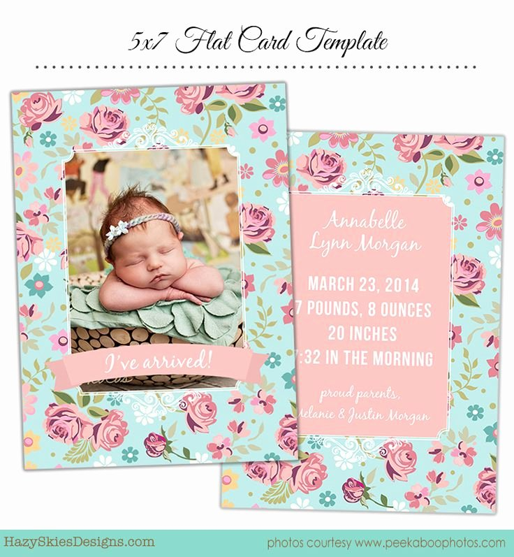 Free Birth Announcements Templates Beautiful 71 Best Images About Birth Announcement Templates Family Graphy Templates On Pinterest