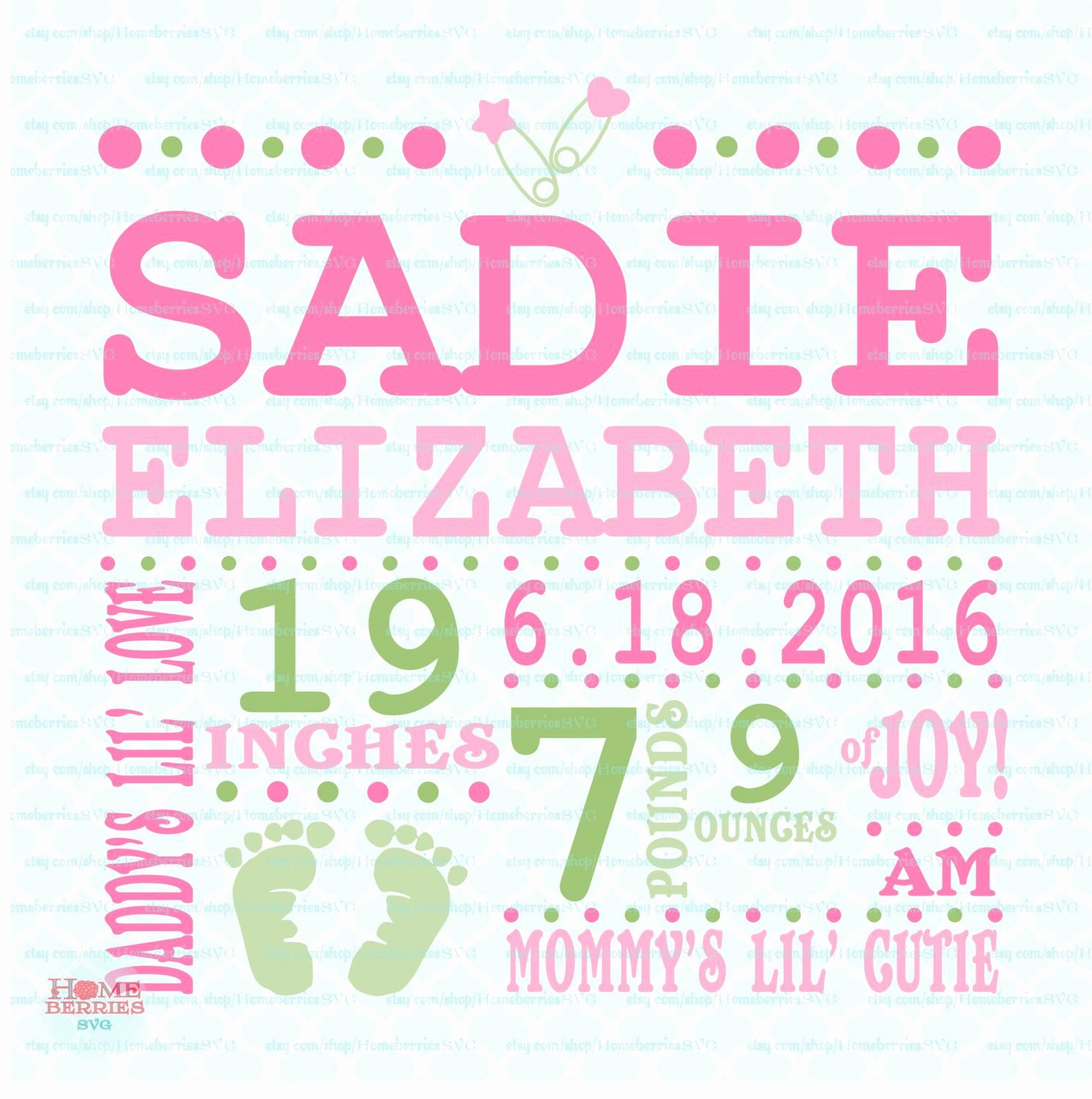 Free Birth Announcements Templates Inspirational Birth Announcement Template Svg Birth Svg Baby Svg Announcement Svg Birth Facts Svg Birth Stats