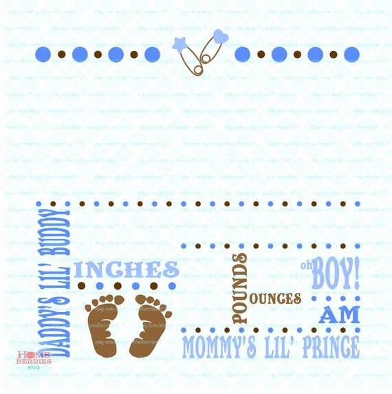 Free Birth Announcements Templates Luxury Birth Announcement Template Svg Birth Svg Baby Svg