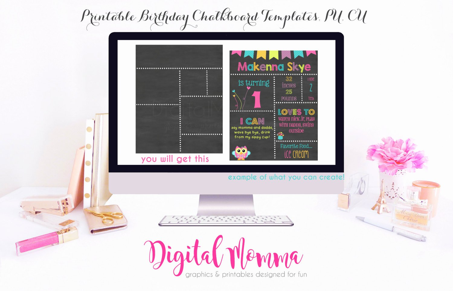 Free Birthday Chalkboard Template Lovely Printable Diy Blank Birthday Chalkboard Template High